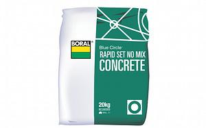 Rapid Set No Mix Concrete