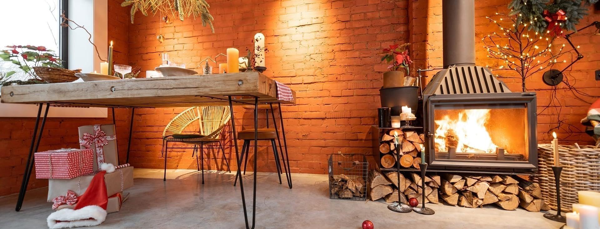 Premium hardwood firewood in stock
